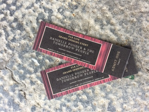 Tickets for an exclusive show!