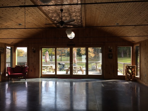 Event space at New Park Retreat